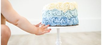 One Year Old Cake Smash | Salt Lake City Children's Photographer