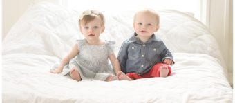 One Year Old Twins | Salt Lake City Children's Photographer