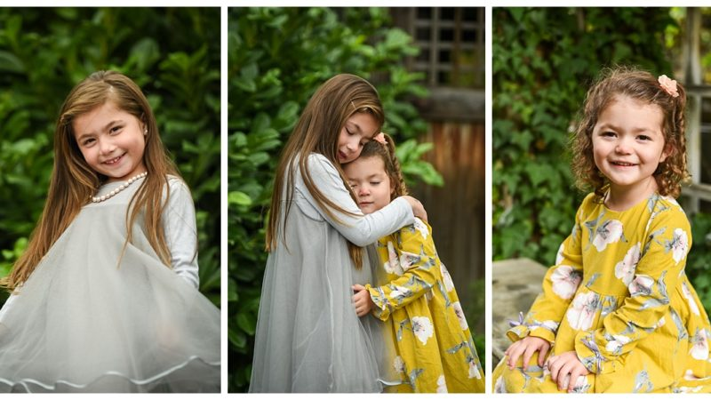 Mihalopoulos Family Garden Portraits | Salt Lake City Utah Family Photographer