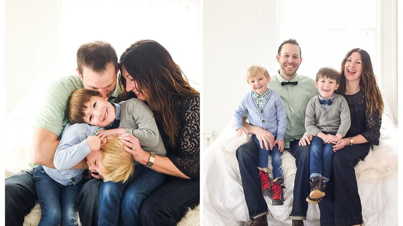 At the Studio with the Taylor Family | Salt Lake City and Denver Family Photographer