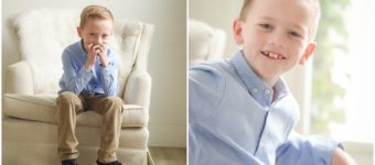 At the Studio with the Anderson Kids | Salt Lake City & Denver Family Photographer
