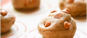 In the Kitchen | Salted Caramel Pumpkin Spice Cookies
