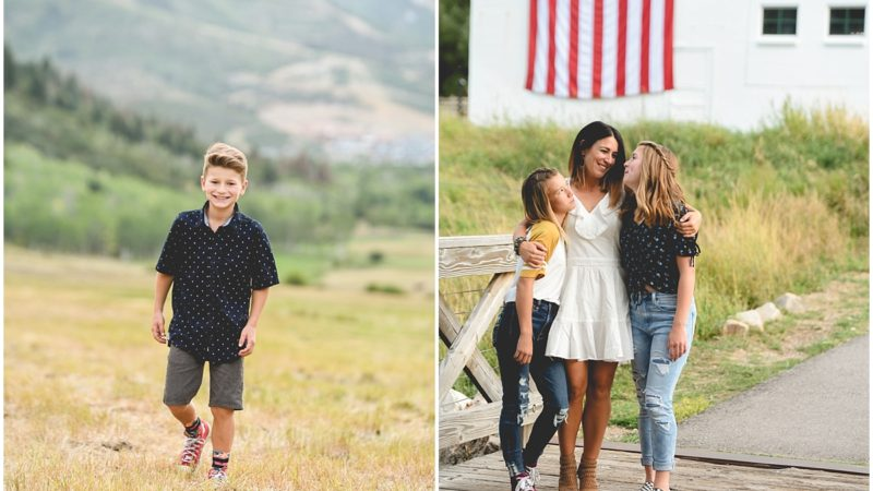 Park City White Barn Family Photos | Utah & Denver Photographer