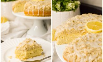Lemon Cream Cheese Cake Recipe Food Photographer