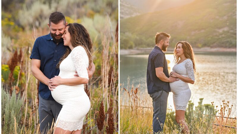 Mountain Maternity Shoot