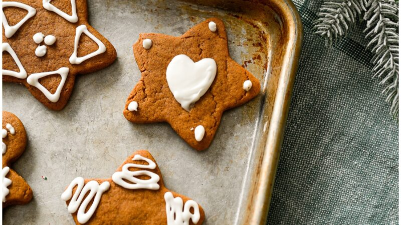 *THE MOST WONDERFUL* Gingerbread Cookies